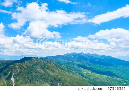 초여름의 蓼科山 등산 : 산정 타케 희망 67546543