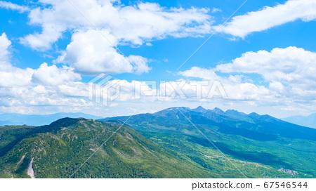 초여름의 蓼科山 등산 : 산정 타케 희망 67546544