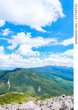 초여름의 蓼科山 등산 : 산정 타케 희망 67546545