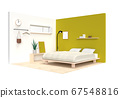 Relax in the bright and bright bedroom 67548816
