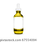 yellow bottle with pipette. dropper bottle with 67554094