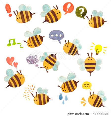 Yurue蜜蜂 67565096