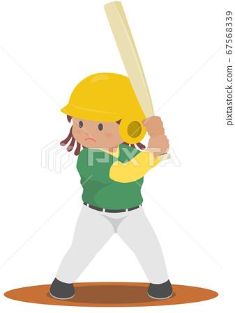 棒球擊球手 67568339