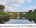 가을 하늘과 利根運河 67568824