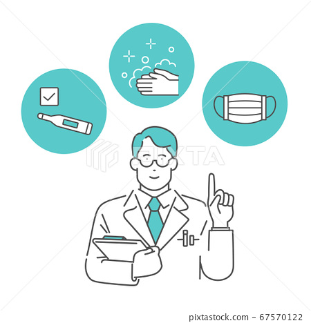 醫生解釋冠狀病毒感染的措施和預防 67570122