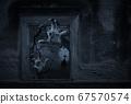 Halloween mystery concept 67570574