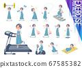 flat type hairband apron mom_exercise 67585382
