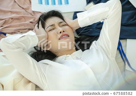 生活方式,累了,女人 67588582