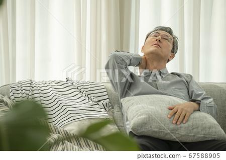 生活方式,放鬆,男人 67588905