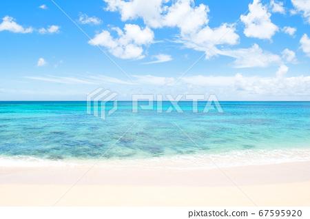 바다와 하늘 하와이 선셋 비치 67595920