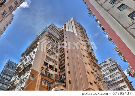 18 July 2020 Tong Lau, Old residential Buildings, 67598437