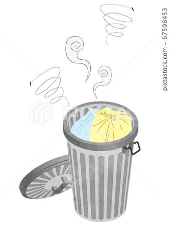 垃圾桶式異味 67598453