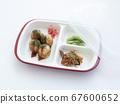 One-plate nursing food [Takoyaki] for seniors, elderly people with dementia and dementia 67600652