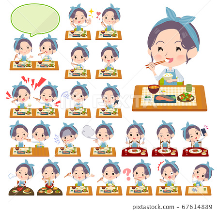 hairband apron mom_Meal 67614889