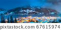 Zell am See in winter, Salzburger Land, Austria 67615974