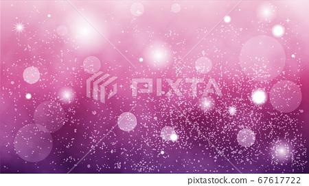 美麗的粒子背景素材紫色 67617722