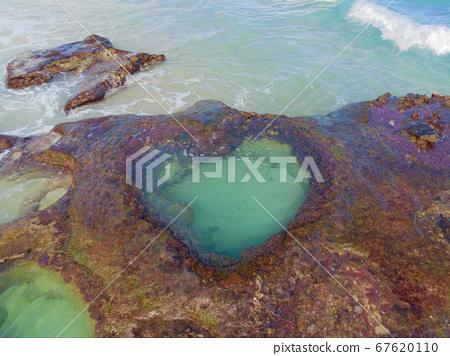 Amami Oshima Heart Lock with a good angle 67620110