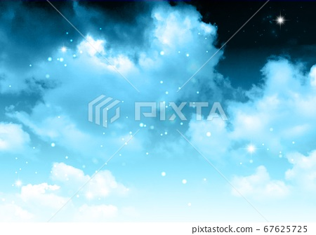 하늘 그라데이션 밤 67625725