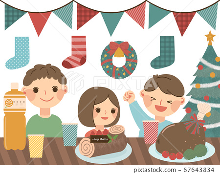 孩子們舉行聖誕晚會 67643834