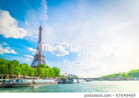Bridge of Alexandre III, Paris, France 67649469