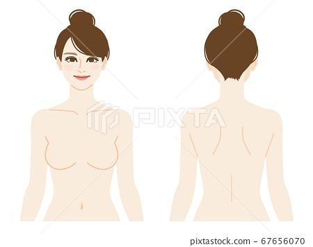裸體女人上半身圖 67656070