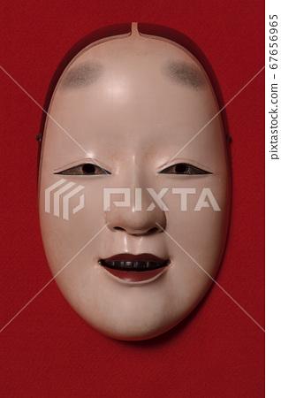 Noh mask [small mask] 67656965