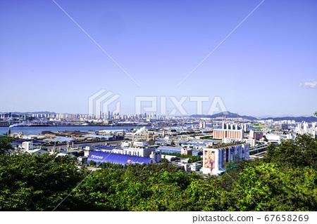 韓國仁川中區北城洞月尾島 67658269