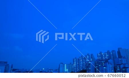 서울 도심 밤하늘 67660052