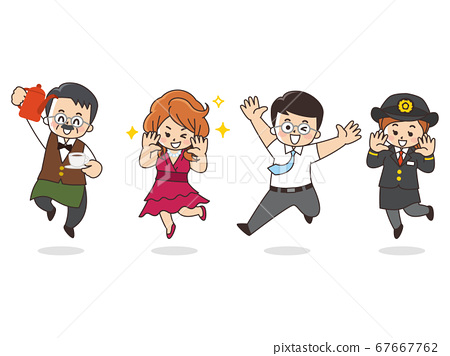 各行業咖啡廳大師歌舞表演女士商人司機 67667762