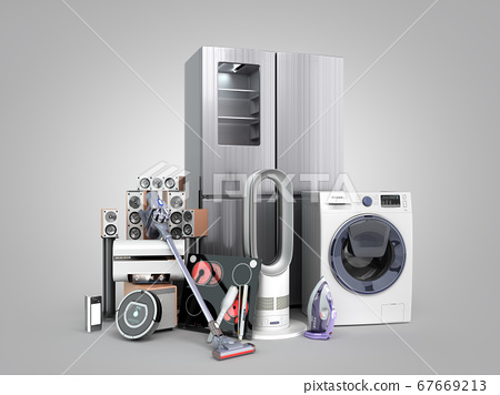 Modern home appliances  E commerce or online 67669213