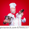 cook smell the open pot 67669237