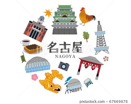 名古屋觀光旅行圖 67669878