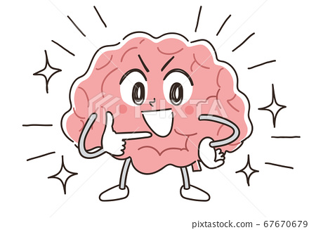 Brain brain science character 67670679