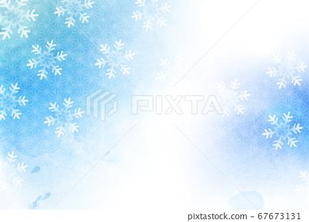 크리스마스 눈 겨울 배경 67673131