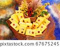 한국음식,케이푸드,요리,음식, 한국의 맛있는 요리이다. 67675245