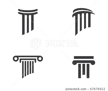 Pillar Logo Template 67676922