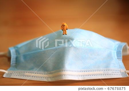 mask detective under the outbreak of coronavirus 67678875