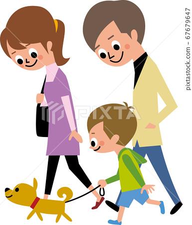 가족 산책 67679647