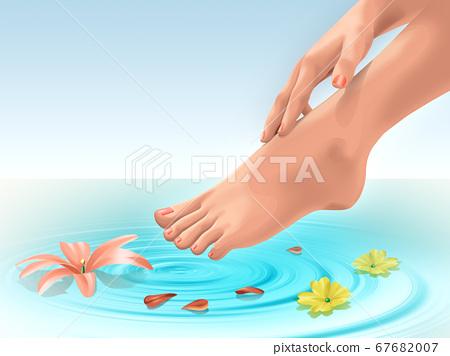 Foot bath 67682007