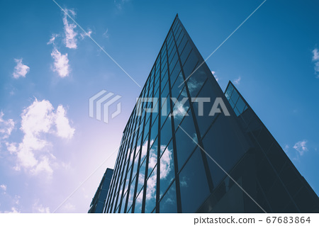 Abstract architecture background 67683864