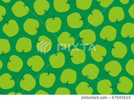 사과 수채화 67695628