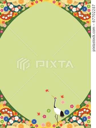 배경 소재 - 가을 일본식 3-3 67702287