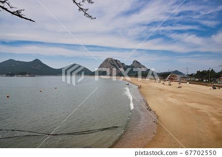 한국의 유명한 관광지 군산 선유도로 여름 휴가 해수욕장,바다,새만금,선유도해수욕장,항구,섬 67702550