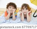 儿童肖像夏天 67709717