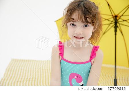 兒童肖像夏天 67709816