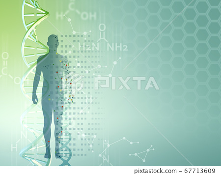 Genetic research background 67713609