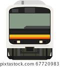 Dot picture style 209 series (Nanbu Line) 67720983