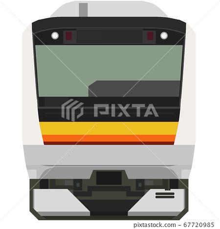 Dot picture style E233 series 8000 series (Nanbu line) 67720985
