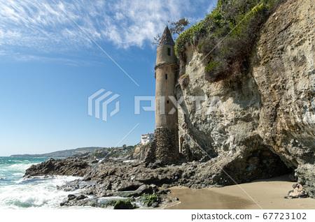 The Pirates Tower At Victoria Beach In Laguna Beach 67723102