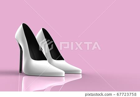 White high heel women shoes 67723758